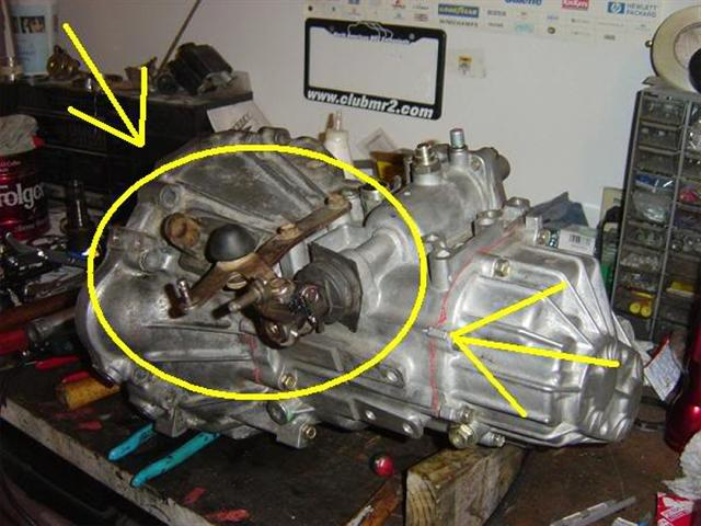 Toyota C-series 6-speed Swap Info